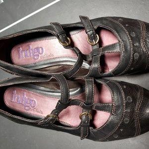 Indigo Mary Jane Shoes 7.5